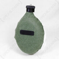 German Army FELDFLASK WATER BOTTLE WITH FELT COVER - WW2 Repro Canteen Flask New
