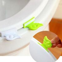 Bathroom Toilet Seat Cover Wing Lifter Handle Lifter Device Avoid Touching