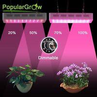 Led Grow Light Dimmbare 300W Multispektrale Pflanzenlampe für den Innenanbau