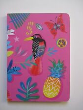 f Tropical Mix bird a NOTEBOOK Journal blank sketch book 80 pg Roger la Borde