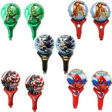 Avengers Superhero 6pcs hand Foil Balloons Kit Happy Birthday Party Decoration
