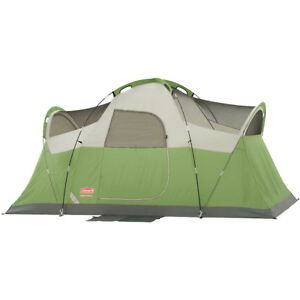 Dome Tent Outdoor Camping 6 Person Family All Season Hiking Shelter Portable