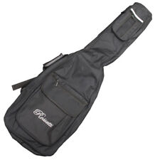 NEW Rossetti BLACK Deluxe Nylon Electric Bass Gig Bag with Pockets