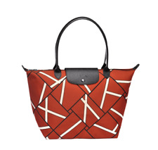 Authentic Longchamp Le Pliage Geo 2018 Tote Sienna- Large