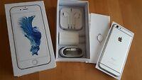 Apple iPhone 6s 16GB  Silber unlocked & iCloudfrei / mit Folie / in OVP **TOPP**