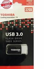 Toshiba 32GB USB 3.0 Flash Drive - Series SA03 Toshiba Click Slide