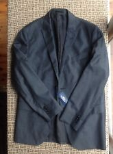 Herringbone Sydney Barton POW Check Mens Wool Suit Jacket Size 42