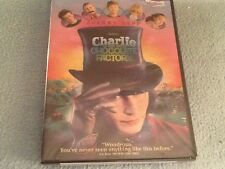 Charlie and the Chocolate Factory (Dvd, 2005, Widescreen) Johnny Depp New!