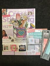 World Of Stitch Magazine Issue 203 With Gift