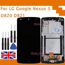 For LG D820 D821 Google Nexus 5 LCD Display Digitizer & Touch Screen & Frame UK