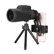 Monocular 40X60 Zoom Optical HD Lens Telescope + Tripod + Clip For Mobile Phone&