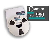 """CAPTURE SERIES 930 TAPE REEL TO REEL 1/4"""" X3600' 10.5"""" METAL RTM RMGI NEW"""