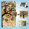 The Tree of Life Wallet Cover Samsung Galaxy S3 4 5 6 7 8 Edge Note Plus 087
