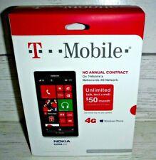 New Nokia Lumia 521 4G T-Mobile White GSM 8GB Windows 8 Wifi Smartphone T-Mobile