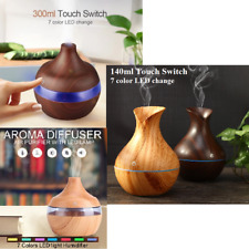 LED Colour Ultrasonic Aroma Essential Oil Diffuser Air Purifier Humidifier