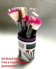 12 Makeup Brush Set Foundation Blend Blush Concealer Face Eye Eyebrow Lip Cheek