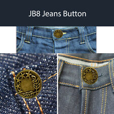 1000pcs Hammer On Jeans Buttons 17mm Studs in Bronze with Pins Jacket Trousers