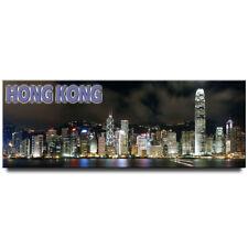 Hong Kong panoramic fridge magnet travel souvenir