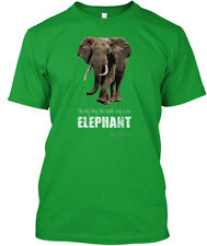 Save The Elephant / Usa - Only Thing That Needs Ivory Is An Premium Tee T-Shirt