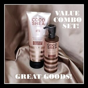 COCO SHEA - Coconut Oil Combo! 24-Hour Moisture Body Lotion & Body Wash