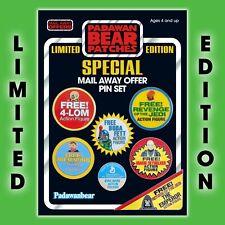 New! Enamel PIN Set of7 Kenner STAR WARS VintageMail Away Figure Offer logos