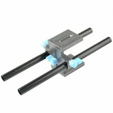 2 x DP500 15mm Diameter 25cm Handle Rail for C-shape Cage Bracket Rod Support