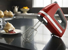 KitchenAid Powerful Hand Mixer rrKHM9er  KHM9er 9 speed DIGITAL Empire Red