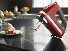 KitchenAid Powerful Hand Mixer rrKHM9er  KHM9er 9 speed DIGITAL Empire Red