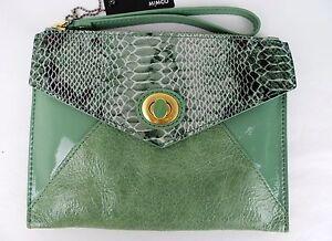 Mimco Womens Fiction Envelope Clutch Bag/ Handbag- BNWT- rrp$149- REDUCED