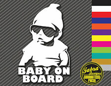 BABY ON BOARD VINYL DECAL STICKER HANGOVER MOVIE SAFETY FAMILY FUNNY CAR JDM KID