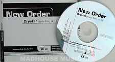 NEW ORDER CD Crystal 1 Track USA rare MINT in UNIQUE Title Sleeve