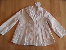 JOTTUM wunderschöne weiß-graue Jacke BAMBINA Gr. 116 NEU