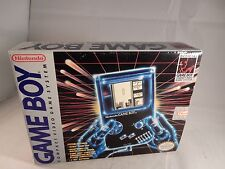 Original Nintendo Game Boy DMG-01 System (BOX & INSERTS ONLY, NEAR MINT!) #S056