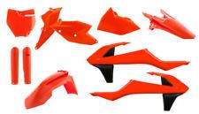 Flourescent Flo Orange Body Plastic Kit KTM 125 150 250 350 450 SXF 2016 2017