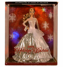 BARBIE - Poupée Happy Holidays 2008 blonde 20th Mattel Neuve Misb