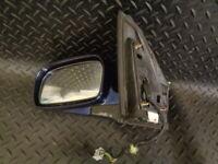 2004 HONDA CIVIC 1.6 i-VTEC SE 5DR PASSENGER SIDE WING MIRROR ELECTRIC BLUE