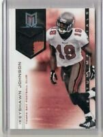 KEYSHAWN JOHNSON 2012 Momentum Materials Prime #14 Serial #14/49 2-color patch