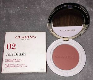 NEW Clarins Joli Blush 02 Cheeky Pink 5g