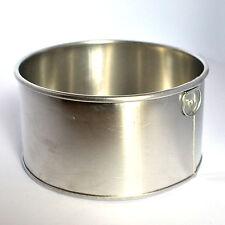 "Round Aluminium Cake Tin Baking Pan 6"""