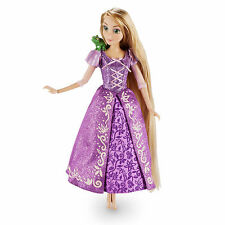 "Disney Store Tangled Rapunzel Princess Toy Doll Figure 12"" w/ Pascal NEW in BOX"
