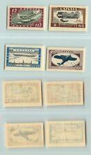 Latvia 1933 SC CB21a-CB24a mint imperf . d9401