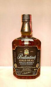 BALLANTINE'S GOLD SEAL SPECIAL RESERVE 12 Y.O. SCOTCH WHISKY - VINTAGE 90'S