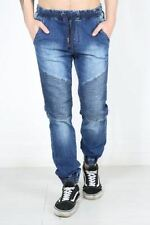 Unbranded Cotton Mid Rise Distressed Jeans for Men