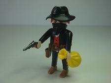 Special Playmobil 3814 Bandido Forajido Asaltador de Bancos Oeste Western Ladron