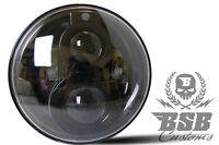 """LED SCHEINWERFER 7"""" mit Standlicht + CE Harley Fat BOY Softail Heritage SLIM"""