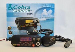 Cobra Marine MR F55 EU Boat Fixed Mount Waterproof VHF Transceiver Radio