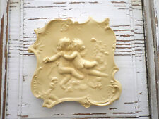 Architectural Antique Cherubs Furniture Applique Wood Resin *New*