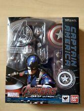 Bandai S.H. Figuarts Avengers: Age of Ultron Captain America Used