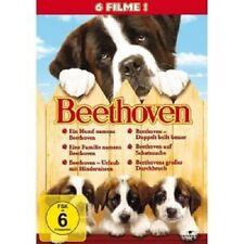 BEETHOVEN VOL.1-6 - 6 DVD NEUWARE CHARLES GRODIN,BONNIE HUNT,DEAN JONES