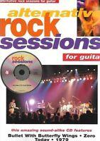 Partition+CD pour guitare - Alternative Rock Sessions for Guitar
